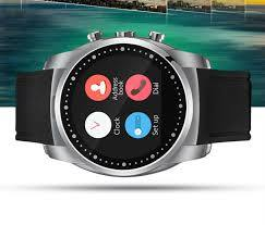 Measure PPG Heart Rate Monitor Smart Watch for Android IOS - SCARLET - Marheba