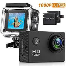 Action Camera Waterproof 30m Sport Camera