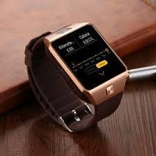 Bison SB-01 Smart Watch Mobile,Gold - Marheba