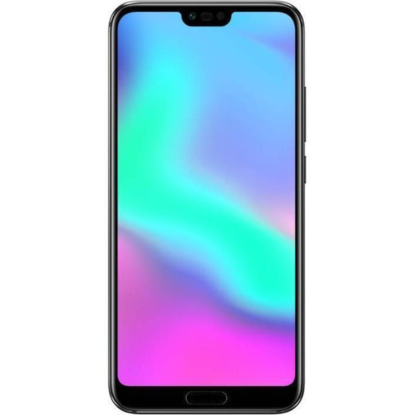 Honor 10 Dual SIM - 128GB, 4GB RAM, 4G LTE, Black - Marheba
