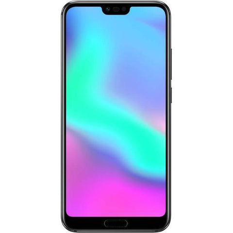 Honor 10 Dual SIM - 128GB, 4GB RAM, 4G LTE, Black