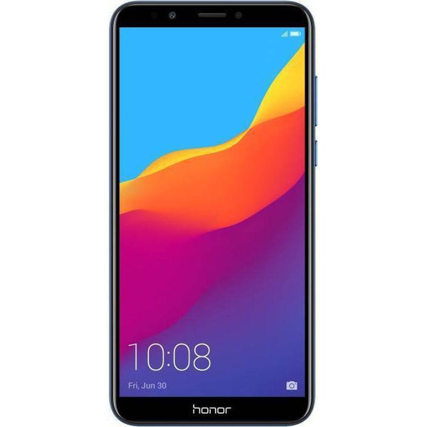 Honor 7S Dual SIM- 16GB, 2GB RAM, 4G LTE, Black - Marheba