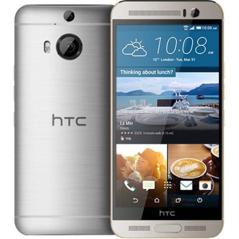 HTC One M9 Plus - 32GB, 4G LTE, WiFi, Gunmetal Gray