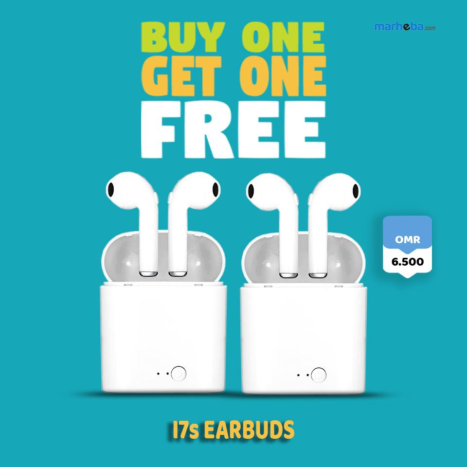 HBQ I7s Twin Bluetooth Double Earphones (BUY ONE,GET ONE)