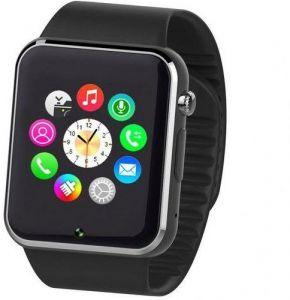 Smartberry Smart Watch Metal Band For Android & iOS,Black - S008