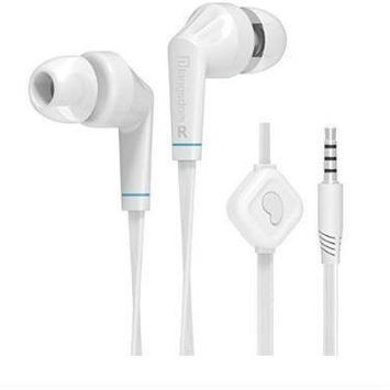 Langsdom JD88 Earphone Headphones With Mic - White - Marheba