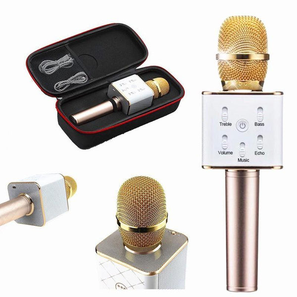 Q9 Wireless Microphone HIFI Speaker,Bluetooth Mic - Marheba