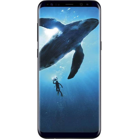 Samsung Galaxy S8 Plus (Midnight Black,64 GB) (4 GB RAM) - Marheba