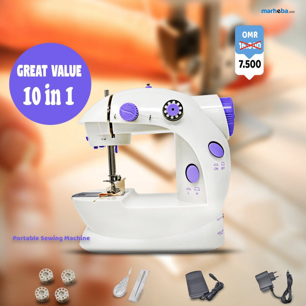 Portable Sewing Machine 10 in 1