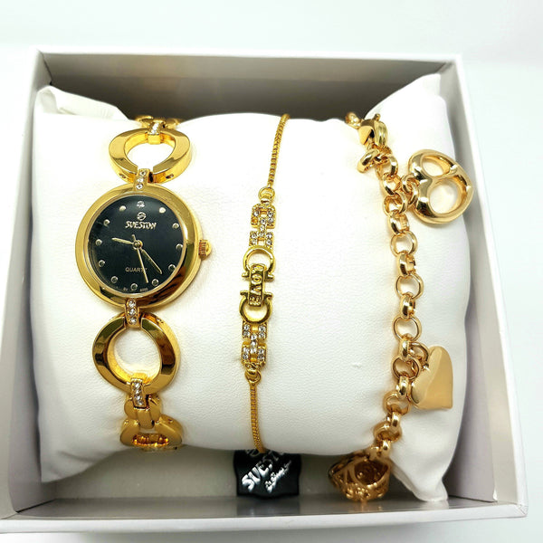 Sveston  SV-6205 Ladies Jewellery Set-(Gold)