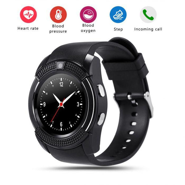 V8 Bluetooth Smart Watch 1.22-inch - Marheba