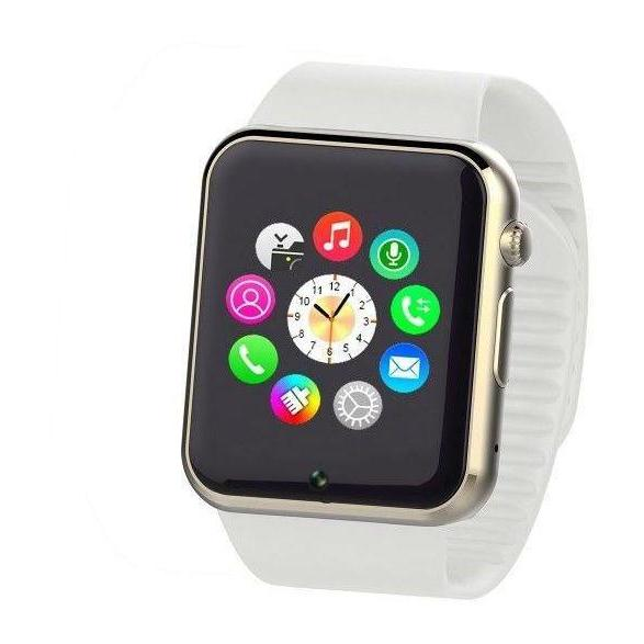 W-008 Smart Watch Anti-loss - White - Marheba