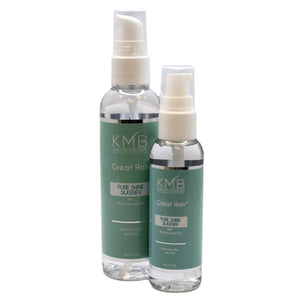 Pure Shine Silken is used on damp hair and is blow dried into the hair before silkening to provide thermal protection.