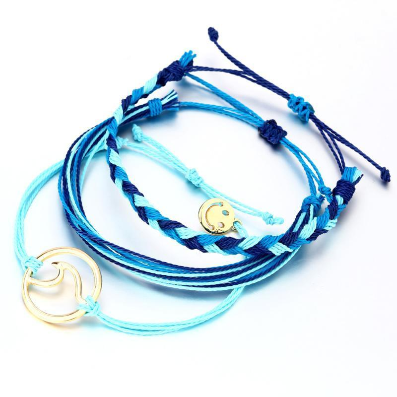 Adjustable Ethnic Wave Friendship Bracelets - The Viral Marketplace