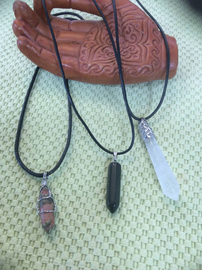 Crystal Point Pendants by Chevelle Culture