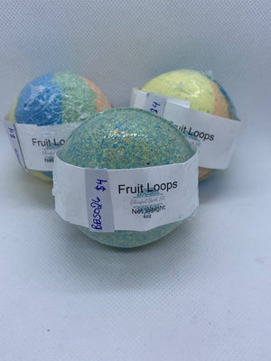 Fruit Loops - Round Bath Bomb