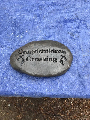 RCS Grandchildren Crossing Stone