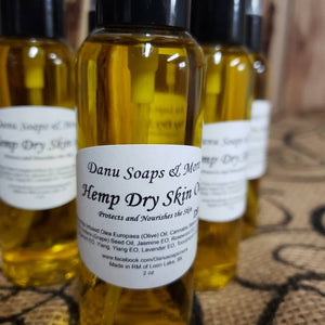 2 oz Hemp Skin Oils
