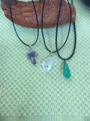 Healing Crystal/Stone Pendants by Chevelle Culture