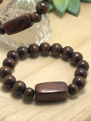 Large Wood Bracelet/by Simply de novo Creations