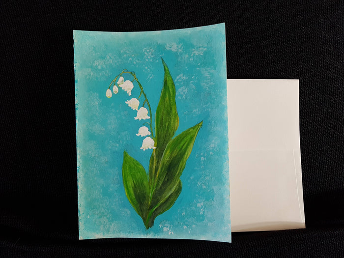 Greeting Card - Lily of the Valley