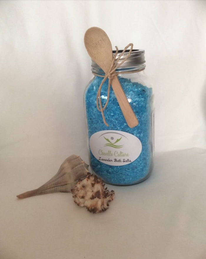 Pint Size Lavender Bath Salts