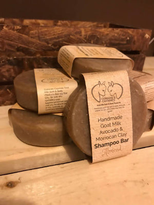 Avocado & Moroccan Clay Goat Milk Shampoo Bar