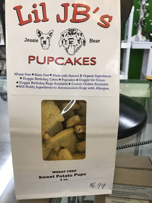 Wheat free sweet potato pups dog treats