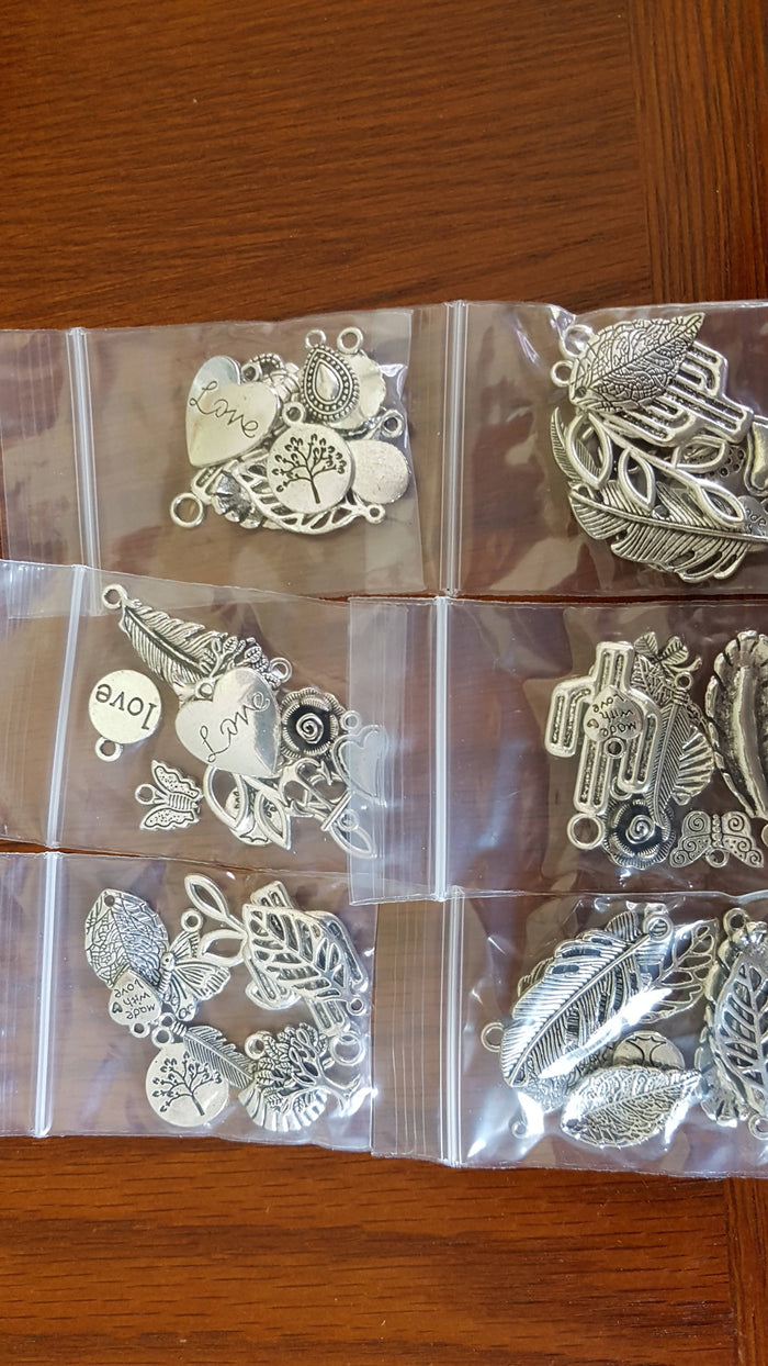 Assorted Bracelet Charms
