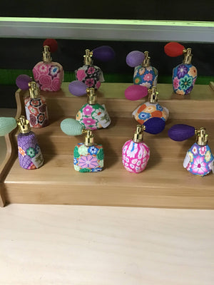 Fancy Fimo Spray Bottles