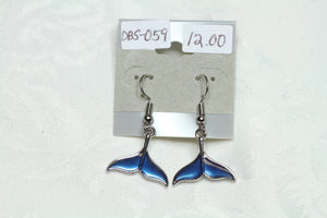 Blue Mermaidtail Earrings