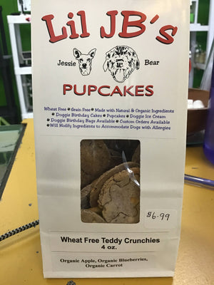 Wheat free Teddy crunchies dog treats