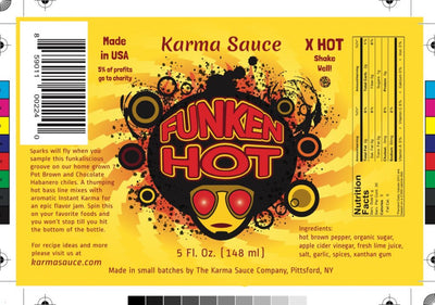 The Karma Sauce Company Introduces New Finger Lakes Grown Super Hot Sauces