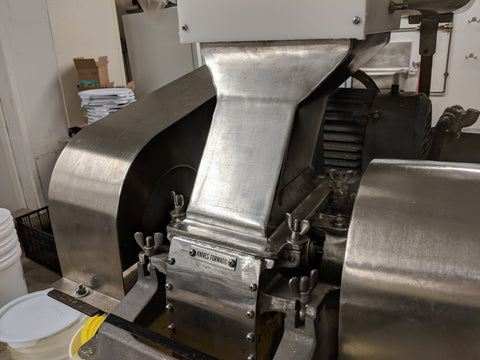 Machinary at the new Karma Sauce factory
