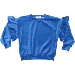 GIRLS KNIT TOP - Rayne-V | Amp Blue - Joah Love
