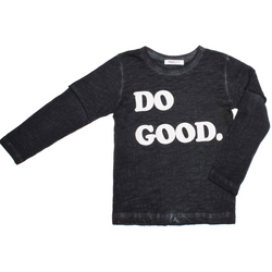 Boy's Tops - Kevin | Do Good | Black - Joah Love