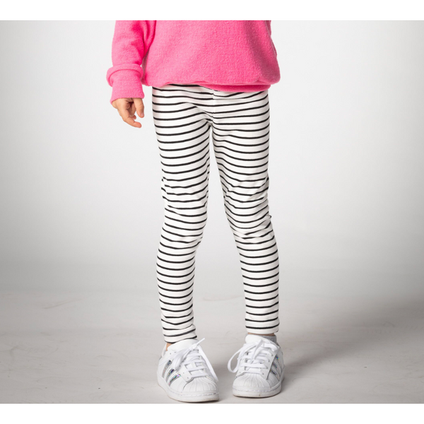 Girl's Leggings - Kait | ST | White - Joah Love