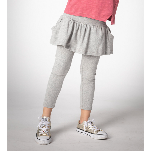 Girl's Leggings - Jolene | Heather - Joah Love