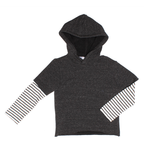 UNISEX KNIT TOP - Lebron | Charcoal - Joah Love