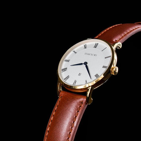 Heritage Gold & Brown - TimexuryWatches