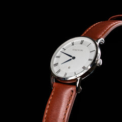 Heritage Silver & Brown - TimexuryWatches