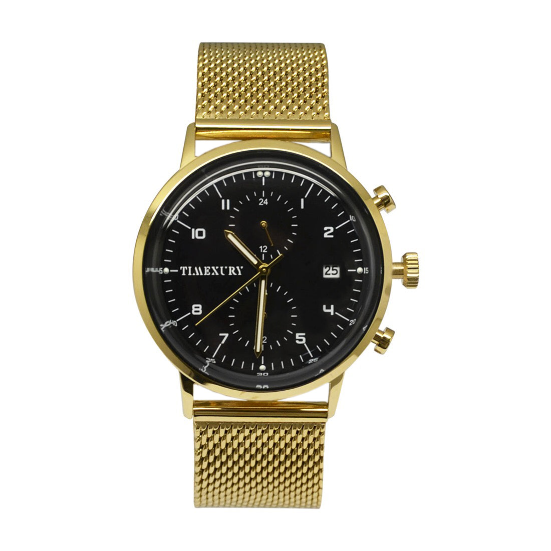 Black & Gold Chronos - TimexuryWatches