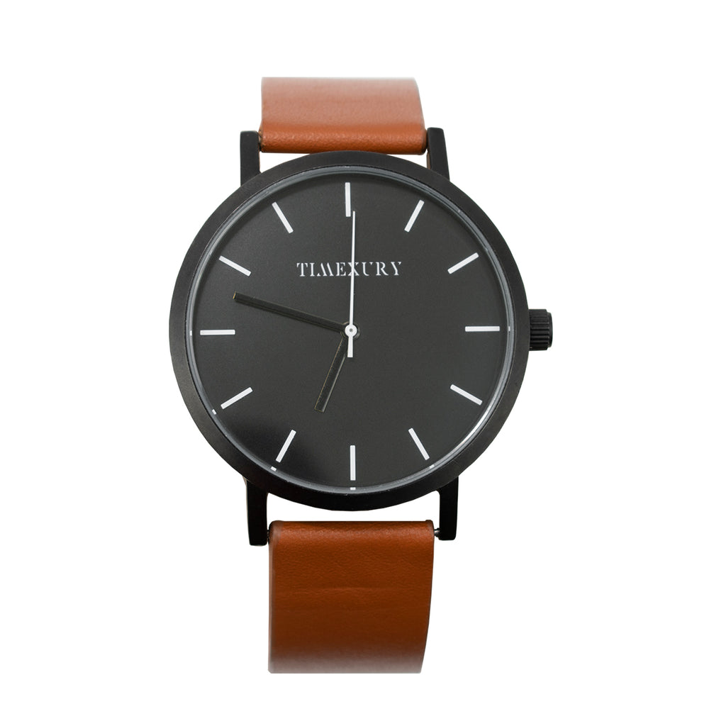 Kasual Black & Brown - TimexuryWatches