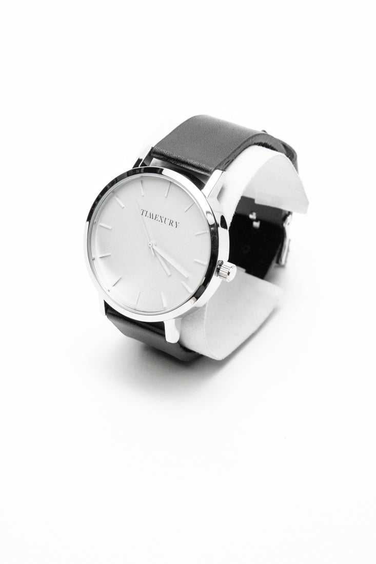 Kasual Silver & Black - TimexuryWatches