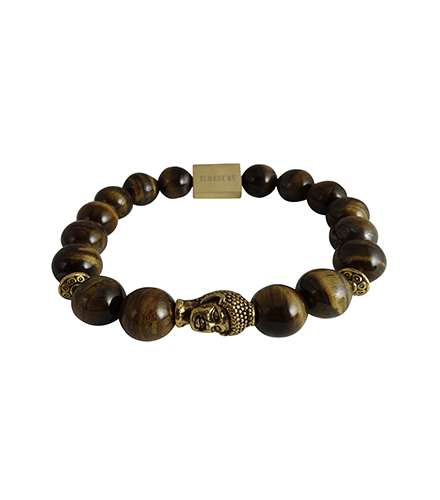 TIGER EYE & GOLD BUDDHA