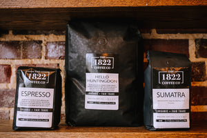 1822 Bagged Beans 12oz Single Origin