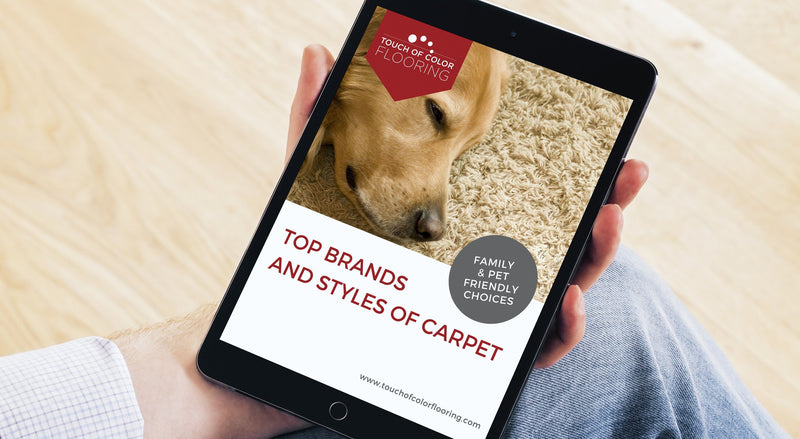 E-Book: Top Brands and Styles of Carpet