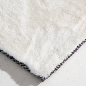 "Super Soft White Rugs Like ""The Brinley"" Warm Up Any House"