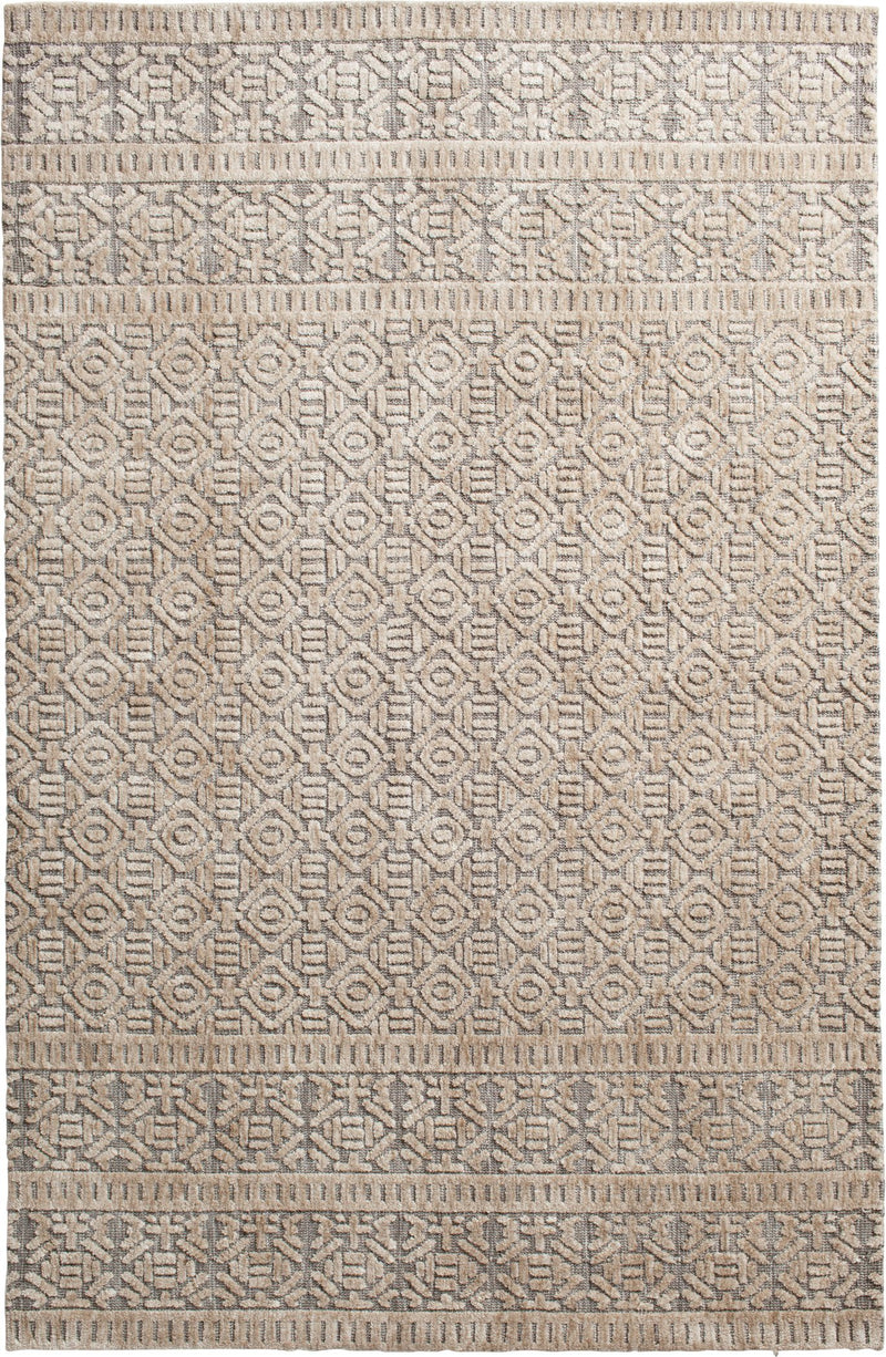 Posh Brinkley Silver Beige Rug From Central Oriental