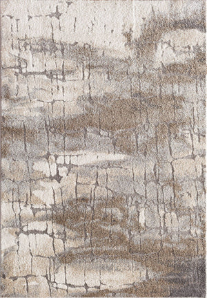 Rainier Boxholm Cream Grey Rug From Central Oriental